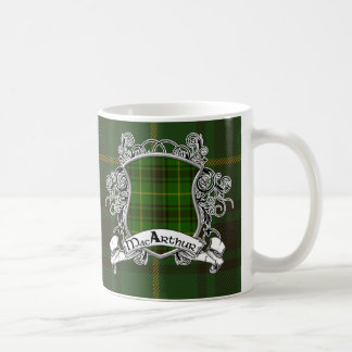 MacArthur Tartan-Schild Kaffeetasse