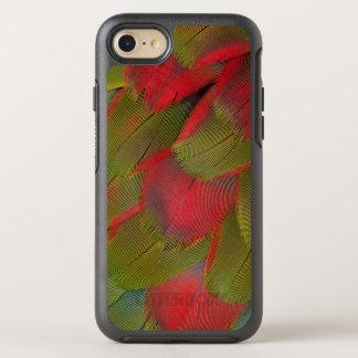 Macaw-Brust-Feder-Entwurf OtterBox Symmetry iPhone 8/7 Hülle