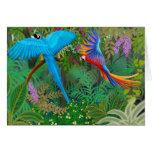 Macaw-Dschungel-Karte