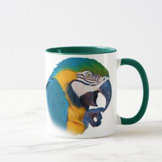 Macaw-Papagei, kundengerechte Tasse