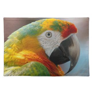 Macaw-Papagei Tischset