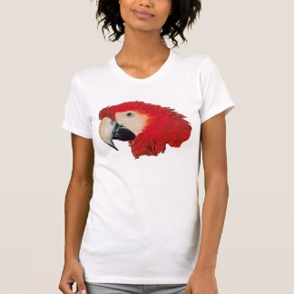 Macaw-Papagei V - Hals Sleeveless T - Shirt