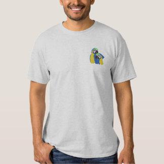 Macaw-Papageien Besticktes T-Shirt