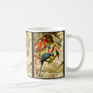 Macaw-Papageien-Vogel-Tier-Tier-Tasse Kaffeetasse