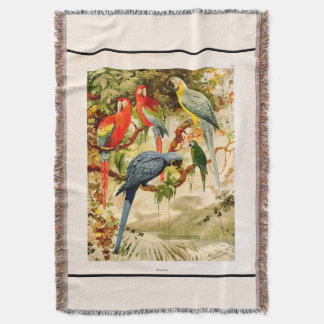 Macaw-Papageien-Vogel-Tier-Tier-Wurfs-Decke Decke