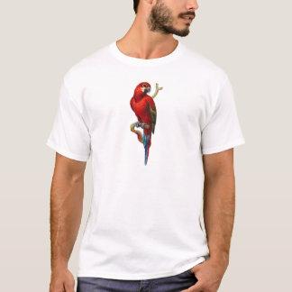 Macaw-Rot-Papagei T-Shirt
