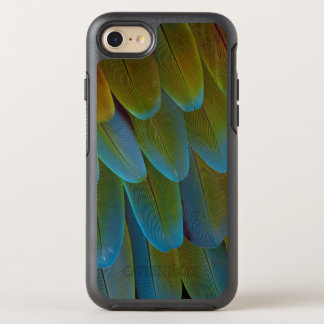 Macawpapageienfeder-Musterdetail OtterBox Symmetry iPhone 8/7 Hülle
