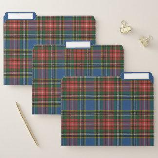 Macbeth alter ursprünglicher schottischer Tartan Papiermappe