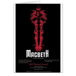 Macbeth (mit Informationen) Karte