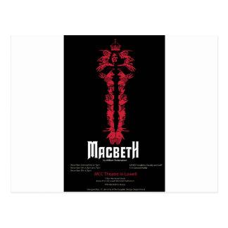 Macbeth (mit Informationen) Postkarte