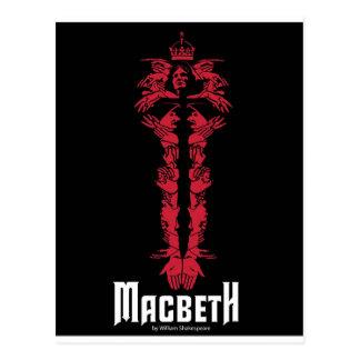 Macbeth Postkarte