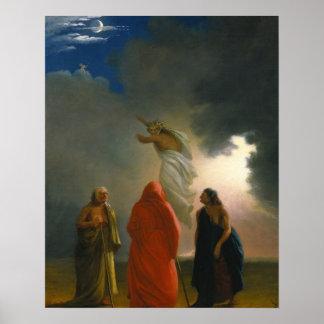 Macbeth und die drei Hexen Poster