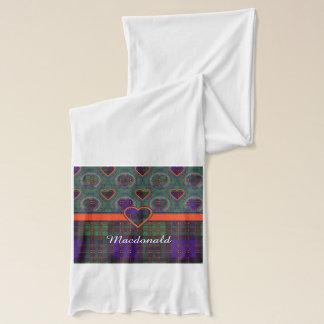 Macdonald Clan karierter schottischer Tartan Schal