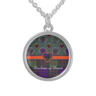 Macdonald Clan karierter schottischer Tartan Sterling Silberkette