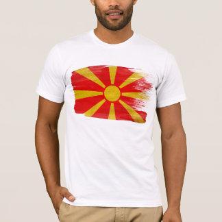 Macedonia-Flaggen-T - Shirt