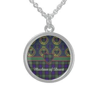 Macewen Clan karierter schottischer Tartan Sterling Silberkette