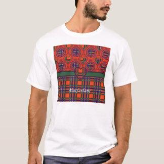 Macfarlane Clan karierter schottischer Tartan T-Shirt