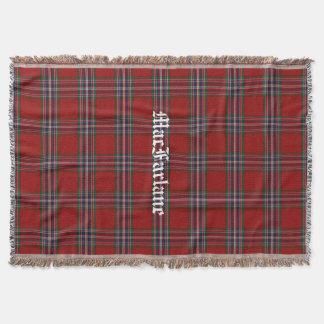 MacFarlane ClanTartankarierte kundenspezifische Decke