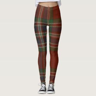 MacFarlane Tartan-Clan kariert Leggings
