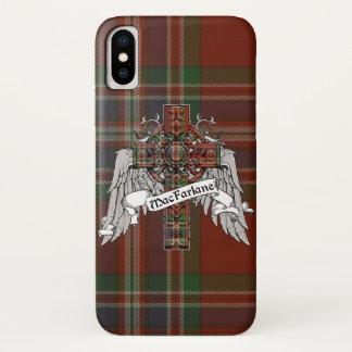 MacFarlane Tartan-Kreuz iPhone X Hülle