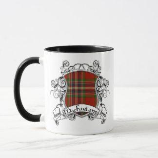 MacFarlane Tartan-Schild Tasse