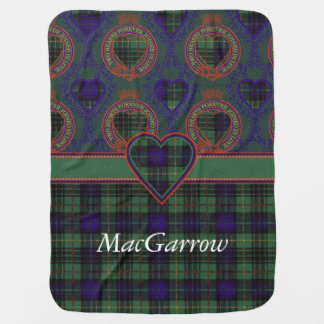 MacGarrow Clan karierter schottischer Kilt Tartan Puckdecke