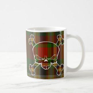 MacGill Tartan-Schädel keine Fahne Kaffeetasse
