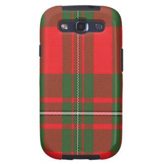Macgregor schottischer Tartan Samsung rufen Fall Galaxy SIII Hüllen