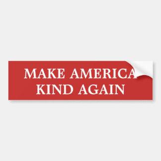 Machen Sie Amerika-Art wieder Autoaufkleber