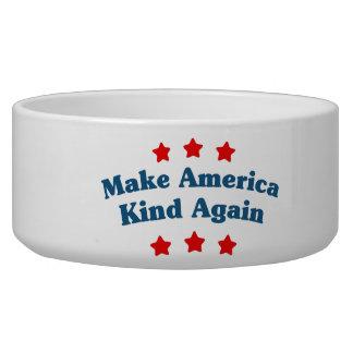 Machen Sie Amerika-Art wieder Napf