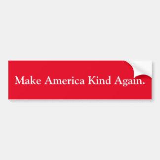 """""""Machen Sie Amerika-Arten-wieder"""" Autoaufkleber"""