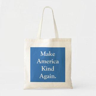 """""""Machen Sie Amerika-Arten-wieder"""" politische Tragetasche"""