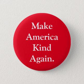 """""""Machen Sie Amerika-Arten-wieder"""" rotes Runder Button 5,7 Cm"""