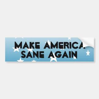 Machen Sie Amerika gesunden wieder Autoaufkleber