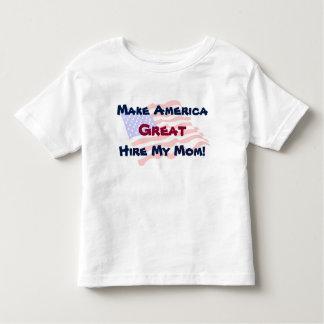 Machen Sie Amerika groß - stellen Sie meine Mamma Kleinkind T-shirt