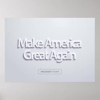 Machen Sie Amerika groß wieder Poster
