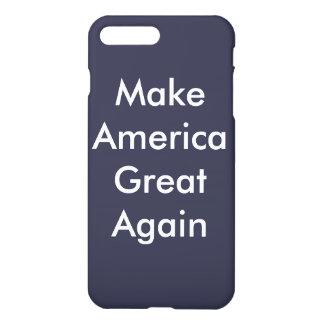 Machen Sie Amerika großen wieder kundengerechten iPhone 8 Plus/7 Plus Hülle