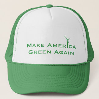Machen Sie Amerika-Grün wieder Truckerkappe