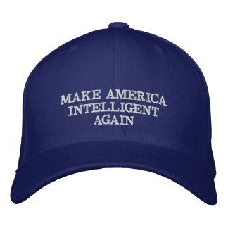 Machen Sie Amerika intelligent wieder Bestickte Kappe