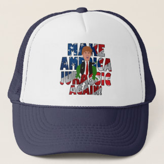 Machen Sie Amerika Jura wieder!: Truckerkappe