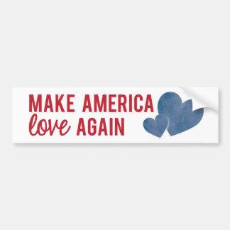 Machen Sie Amerika-Liebe-wieder Autoaufkleber