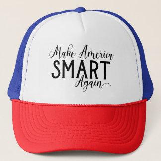 Machen Sie Amerika Smart wieder Anti-Trumpf Truckerkappe
