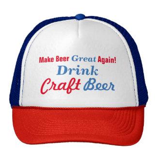 Machen Sie Bier groß wieder Mütze
