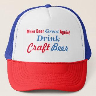 Machen Sie Bier groß wieder Truckerkappe