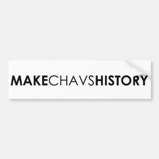 Machen Sie Chavs GeschichtsAutoaufkleber Autoaufkleber