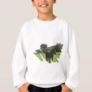 Machen Sie das Sweatshirt des Pony-Mädchens fest