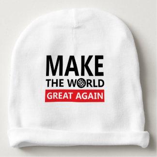 machen Sie die Welt groß wieder Babymütze