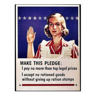 Machen Sie diese Bürgschaft: S Postkarte