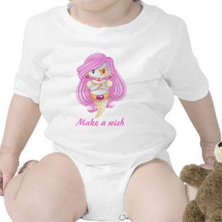 Machen Sie einen Wunsch Baby Strampler