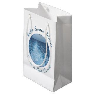 Machen Sie einige Wellen-Seekreuzfahrt Kleine Geschenktüte